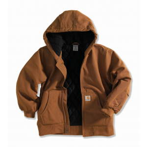 Carhartt Boys' Active Jac - Quilted Flannel Lining