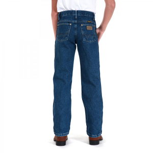 Wrangler Boys' George Strait Original Cowboy Cut 8-16