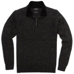 Pendleton Men's Shetland Half Zip Sweater-discontinued
