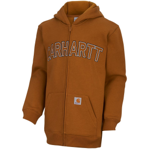 Carhartt Boys' Logo Fleece Zip Sweatshirt
