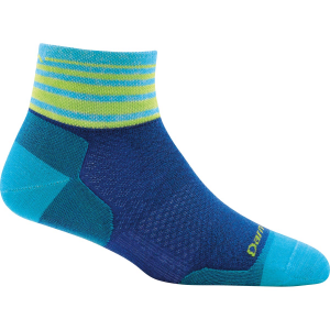 Darn Tough Vermont Women's Stripe Quarter Sock Ultra Light