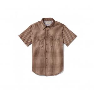 Filson Men's Twin Lakes Short Sleeve Sport Shirt - Brick Tan