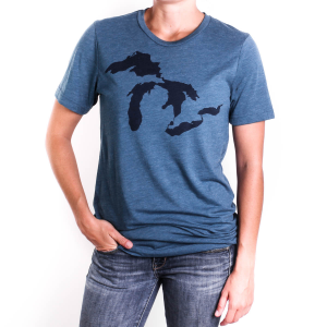 Bohemia Printing Great Lakes Short Sleeve Tee