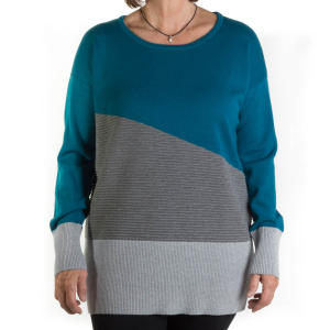 Tribal Women's Color Block Tunic
