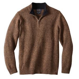 Pendleton Men's Shetland Half Zip Sweater