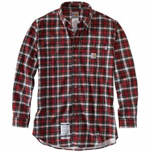 Carhartt Men's FR Classic Plaid Shirt - Discontinued Pricing