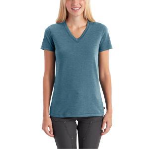 Carhartt Women's Lockhart Short Sleeve V-Neck T-Shirt - Discontinued Pricing