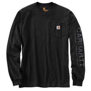 Carhartt Men's Workwear Logo Sleeve Graphic Long Sleeve T-Shirt
