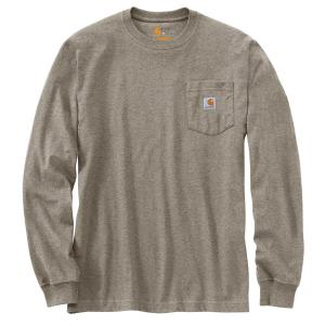 Carhartt Men's Workwear Rugged Outdoors Mtn Graphic Pocket LS T-Shirt
