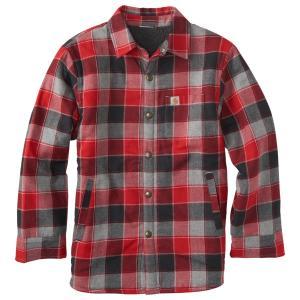 Carhartt Boys' Lined Flannel Shirt Jac