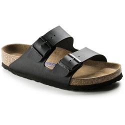 Women's Birkenstock Arizona Birko-Flor Sandal in Black Size 41 Regular