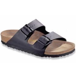 Women's Birkenstock Arizona Birko-Flor Sandal in Black Size 38 Regular