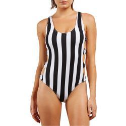 Women's Volcom Stripe Club One-Piece Swimsuit 2018