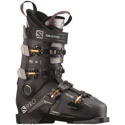 Women's Salomon S/Pro 90 W Ski Boots 2021 - 24.5 in Black