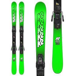 Kid's K2 Juvy Skis + Marker FDT 4.5 BindingsLittle Boys' 2019