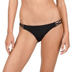 Women's Volcom Simply Solid Full Bikini Bottoms 2021 - Large Black