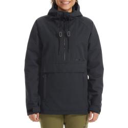Women's Armada x evo Saint Insulated Pullover Jacket 2021 - Small Black | Polyester