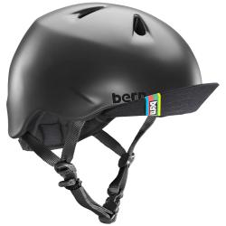 Kid's Bern Nino Bike Helmett w/Flip Visor Little Boys' 2021 - X-Small/Small in Black