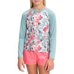 Kid's The North Face Long Sleeve Sun T-Shirt Girls' 2021 - Small Green