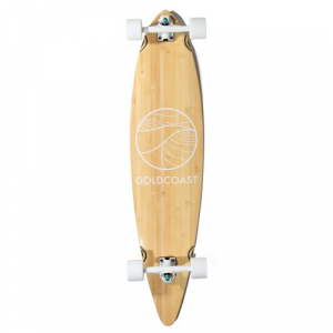 Gold Coast Classic Bamboo Pintail Longboard Complete