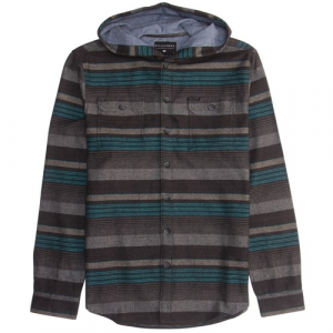 Billabong Latitude Long Sleeve Hooded Button Down Shirt (Ages 8 14) Big Boys'