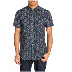 Quiksilver Furness Short Sleeve Button Down Shirt