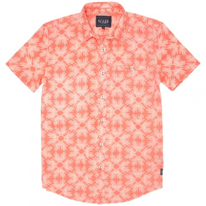 Roark Dr Koi Short Sleeve Button Down Shirt