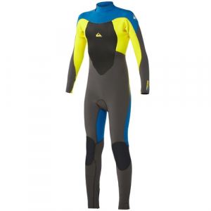 Quiksilver Syncro 4/3 GBS Back Zip Wetsuit Big Boys'