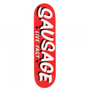 Sausage Red Casual 8.25 Skateboard Deck
