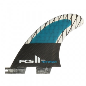 FCS II Performer PC Carbon Small Tri Fin Set