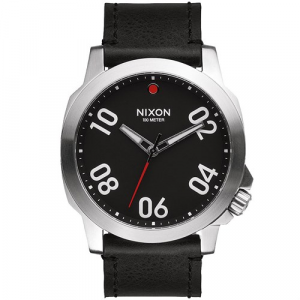 Nixon The Ranger 45 Leather Watch