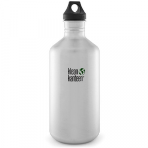 "Klean Kanteen ""The Original"" Classic 64oz Water Bottle w/ Loop Cap"