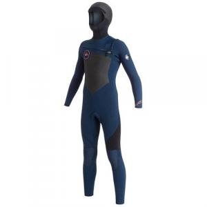Quiksilver Syncro 543 Hooded GBS Chest Zip Wetsuit Boys