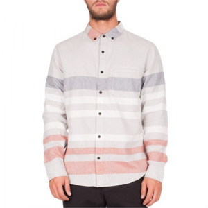 Ourcaste Tony Print Long Sleeve Button Down Shirt