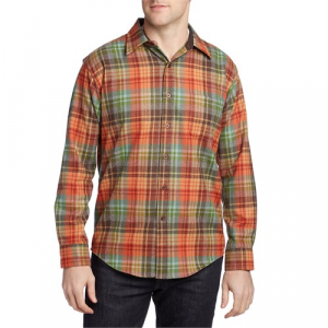 Pendleton Lodge Fitted Long Sleeve Button Down Flannel