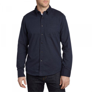 Deus Ex Machina Albie Brushed Long Sleeve Button Down Shirt