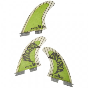 FCS II MB PC Carbon Large Tri Fin Set