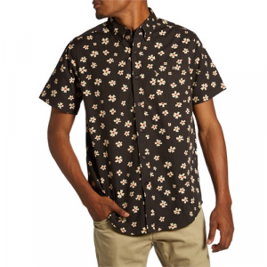 Vissla Outer Pool Short Sleeve Button Down Shirt