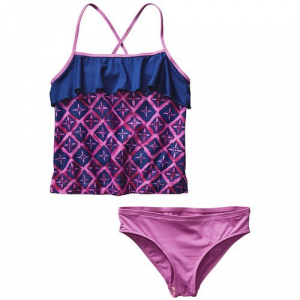 Patagonia Wavy Day Tankini Set (Ages 8 14) Big Girls'