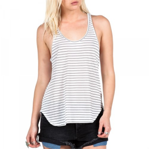 Volcom Lived In Stripe Tank Top Womens