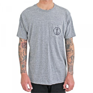 Captain Fin Helm Premium Pocket T Shirt