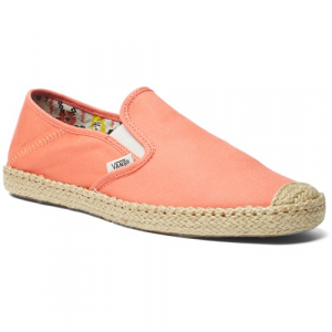 Vans Slip On Espadrille Shoes Womens
