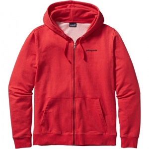 Patagonia P6 Logo Midweight Full Zip Hooded Sweatshirt