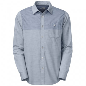 The North Face Block Me Long Sleeve Button Down Shirt