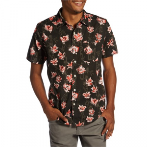 Roark Lotus by Jamie Thomas Short Sleeve Button Down Shirt
