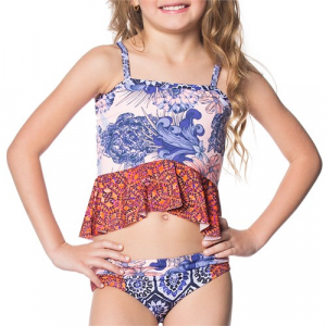 Maaji Slug Bug Tankini Set Little Girls'