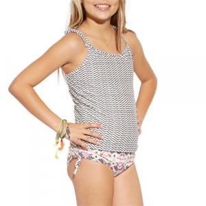Billabong Gee Gee Geo Tankini Set Little Girls