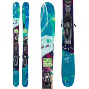 Line Skis Pandora 95 Skis PX 12 Demo Ski Bindings Womens 2016