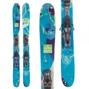 Line Skis Pandora 110 Skis + PX 12 Demo Ski Bindings Women's 2016