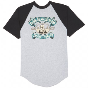 Dark Seas Midshipman Short Sleeve Raglan Shirt